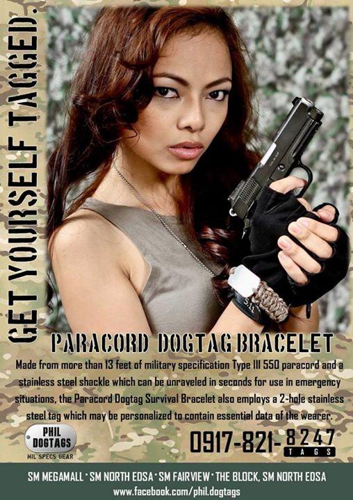 Paracord Tag Bracelet